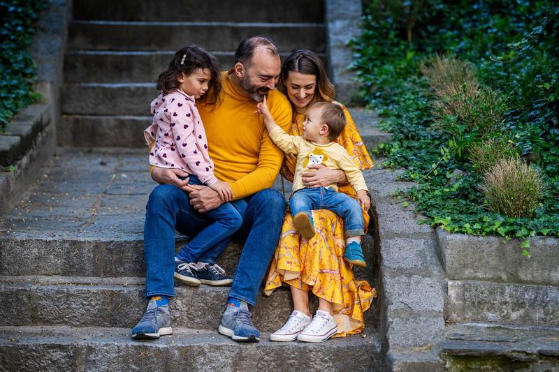 Семейна фотосесия Елена и Георги